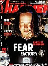 METAL HAMMER Mai 2001 - Fear Factory, Tool, Judas Priest, Megadeth (CD+Poster)