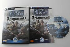 PC MEDAL OF HONOR ALLIED ASSAULT SPEARHEAD COMPLETO PAL ESPAÑA