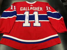 Autographed Brendan Gallagher Montreal Canadiens Adidas Jersey