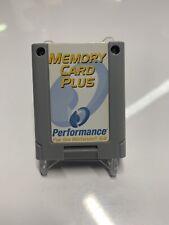 Nintendo 64 Memory Card Plus by Performance N64 P-375AE