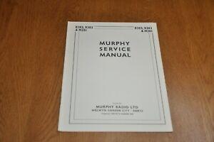 Murphy B283 B383 Radio and M281 Mains Unit Service Manual