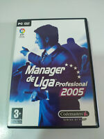 Manager de League Professional 2005 - Set para PC Dvd-rom Edition Spain - 2T