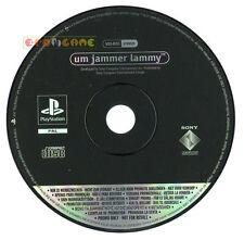 UM JAMMER LAMMY Ps1 Versione Promo Italiana gioco completo »»»»» SOLO DISCO