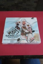 2012-13 UPPER DECK SP GAME USED HOCKEY EDITION - 1 FACTORY SEALED HOBBY BOX