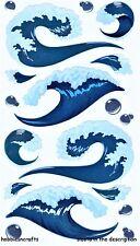 EK SUCCESS STICKO STICKERS - OCEANS SEAS BUBBLES WAVES BREAKERS - TSUNAMI