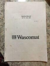Electrolux Wascomat W74 W124 W184 Service Manual (copy)