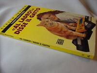 (Louise Munro Foley) Al ladro! disse il gatto 1994 giallo junior n.48