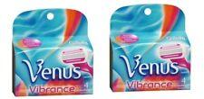 6X Gillette Venus Vibrance Razor Refill 4 Cartridges- New  (PG-26031302)