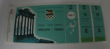 Ticket collectors Olympic Roma 1960 * Football Jugoslavia - Turkey Florence