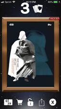 Star Wars Card Trader Darth Vader Outside/Inside 3cc Bronze Gilded Digital Card