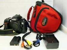 Nikon D70s 6MP Digital SLR Camera Bod    - tested works good - Free Shipping USA