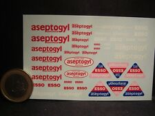 DECALS 1/43 DENTIFRICE ASEPTOGYL  - T269