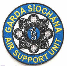 Garda Siochana Air Support Unit Patch Embroidered Badge Gardai Police Ireland