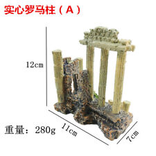 Ancient Greece Temple Ruins Roman Aquarium Decoration