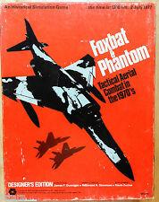 1973 FOXBAT & PHANTOM TACTICAL AERIAL COMBAT GAME by SIMULATIONS PUBLICATIONS