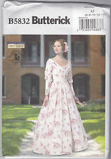 Butterick Civil War Costume Sewing Pattern 5832 ( 6-14)