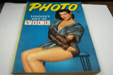 Photo Cheesecake Magazine April 1954 London's Mile of Vice  072812EL
