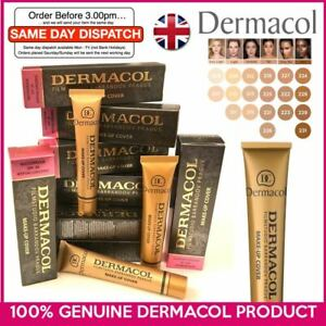GENUINE Dermacol Make-up Cover Legendary High Covering Foundation Makeup UK