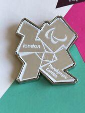 Londres 2012 olímpico Espejo Paralímpicos Logo Pin Insignia