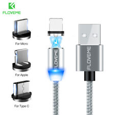 Magnetic USB for Lightning Charging Cable Charger cord for iPhone Samsung Huawei