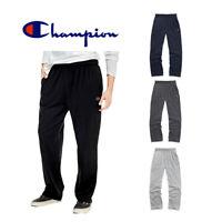 Champion Men's P7309 Open Bottom Light Weight Gym Athletic Jogger Sweatpants