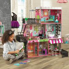 NEW KidKraft Brooklyn's Loft Dollhouse Furniture Incl Girls Pretend Play 65922