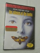 The Silence of the Lambs (DVD, 2001, Widescreen Edition), SEALED!!
