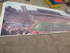 Ohio State Buckeyes Script O-H-I-O Huge Panoramic 12 feet long! Heisman
