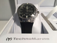 New - Reloj Watch TECHNOMARINE Cruise Black 36 mm Ref. 110036 - Box & Papers