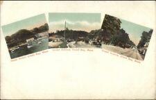 Onset Cape Cod Ma Multi-View c1905 Postcard #2
