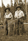 """1920 Cowgirls in Chaps Vintage/ Old Photo 13"""" x 19""""  Reprint"""