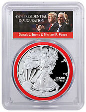 2017-W Silver Eagle PCGS PR70 DCAM First Day Issue 1 of 1000 Red Gasket SKU46282