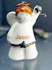 Christmas Angel Ornament with The Name Jason