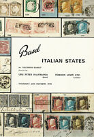 Italian States Classics, Uncommon Market, Stamp Auction Catalog, Oct. 29, 1970