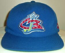 VINTAGE 90's COLUMBUS BLUE JACKETS NHL SPORTS SPECIALTIES CBJ SNAPBACK HAT