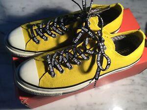 Converse Chuck Taylor Yellow Goretex Canvas Sneaker Mens Uk 11/usa11.5