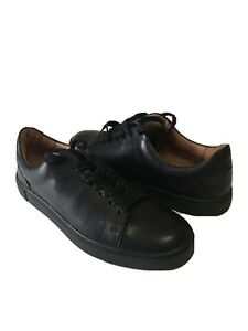 NWOB Frye Ivy Women's Black Leather Casual Fashion Sneaker 7.5M