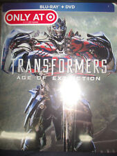 Transformers Age of Extinction Blu-ray/DVD Target Exclusive SteelBook Sealed OOP