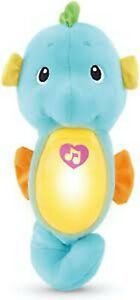 NEW Soothe and Glow seahorse Baby toy lullabies ocean sounds sleep