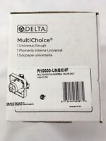 Delta R10000-UNBXHF Universal Mixing Rough-In Valve High-Flow Shower valve only