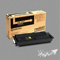 New Genuine Kyocera Mita TK-477 OEM Black Toner Cartridge TK477 TASKalfa 255 305