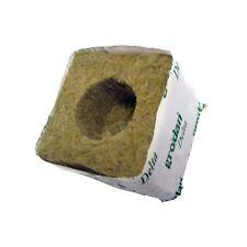 12x GRODAN 7,5x7,5cm cubo cube rockwool lana di roccia 12 pezzi
