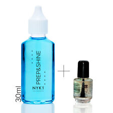 NYK1 Prep&Shine 30ml plus CND Solar Oil Sanitisers for Nails UV Gel Nailac