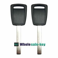 2 New replacement Car Transponder 46 Chipped Key Blade For GMC Sierra Terrain