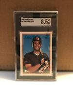 1988 Topps Traded Roberto Alomar RC #4T SGC 8.5 NM-MT+ Padres Rookie