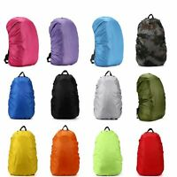 Outdoor Foldable Backpack WaterProof Rain Cover Rucksack Travel Bag 30L 40L