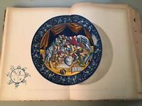 F Argnani Rinascimento ceramiche maiolicate Faenza atlante 40 tavole colori 1898