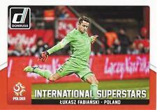 2015 Donruss Soccer 'International Superstars' #69 Lukasz Fabianski Poland