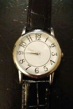 Vintage Calvin Hill men's wrist watch, running with new battery  NR