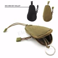 Outdoor Tactical Molle Pouch Pack Bag Military Key Wallet Pocket Bag Chains Case